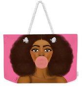 Bubble Gum Girl Weekender Tote Bag