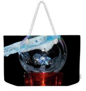 Bubble In A Glass Weekender Tote Bag