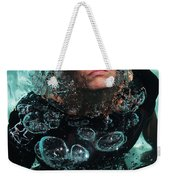 Bubble Maker. Lady Diver Weekender Tote Bag