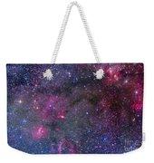 Bubble Nebula And Cave Nebula Mosaic Weekender Tote Bag