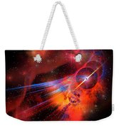 Bubble Nebula Weekender Tote Bag