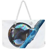 Bubble On Straw Weekender Tote Bag