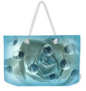 Bubble Rose Weekender Tote Bag