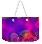 Bubble Trails Weekender Tote Bag