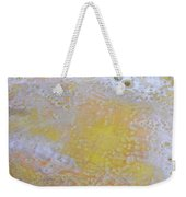 3. Bubble Yellow And White Glaze Painting Weekender Tote Bag
