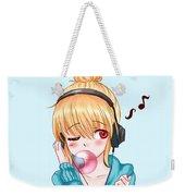 Bubblegum Girl Weekender Tote Bag