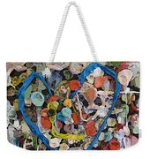Bubblegum Love Weekender Tote Bag