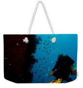 Bubbles And Butterfly Fish Weekender Tote Bag