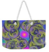 Bubbles In The Mist Weekender Tote Bag