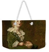 Bubbles Weekender Tote Bag by Sir John Everett Millais