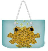 Bubbles The Fish Weekender Tote Bag