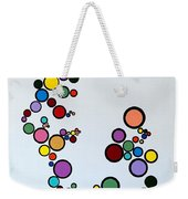 Bubbles2 Weekender Tote Bag
