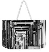 Bubbly French Quarter - Bw Weekender Tote Bag