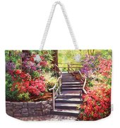 Buchart Garden Stairway Weekender Tote Bag