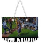 Buck Dancing T Shirt - Mountain Dancing - Porch Music Weekender Tote Bag
