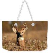 Buck In The Weeds Weekender Tote Bag