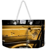 Buck Shot Old Van Weekender Tote Bag