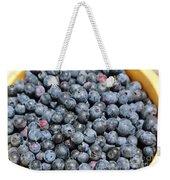Bucket Of Blueberries Weekender Tote Bag