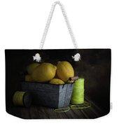 Bucket Of Lemons Weekender Tote Bag