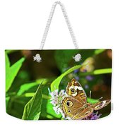 Buckeye Butterfly On The Move 1 Weekender Tote Bag
