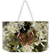 Buckeye On Wildflowers Weekender Tote Bag
