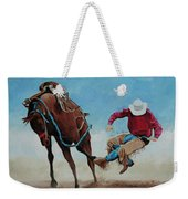 Bucking Bronco Weekender Tote Bag