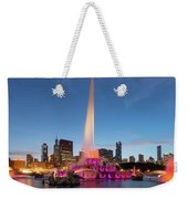 Buckingham Fountain At Dusk II Weekender Tote Bag