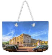 Buckingham Palace And London Taxis Weekender Tote Bag