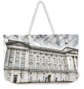 Buckingham Palace London Snow Weekender Tote Bag