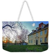 Buckman Tavern At Sunset Weekender Tote Bag