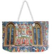 Bucovina Monastery Fresco Weekender Tote Bag