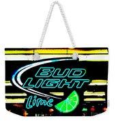 Bud Light Lime Tweeked Weekender Tote Bag