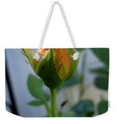 Bud Of A Rose Weekender Tote Bag