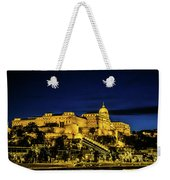 Buda Castle At Night Weekender Tote Bag