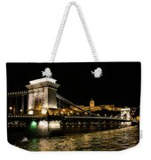 Chain Bridge And  Buda Castle  Weekender Tote Bag
