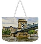 Budapest - Chain Bridge Weekender Tote Bag