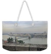 Budapest Hungary Panoramic View Weekender Tote Bag