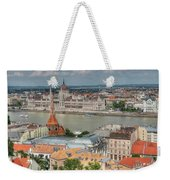 Budapest Overview Weekender Tote Bag