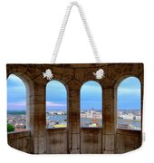Budapest Parliament From The Fishermans Bastion Weekender Tote Bag