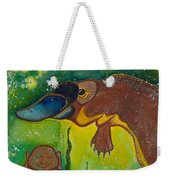 Buddha And The Divine Platypus No. 1375 Weekender Tote Bag