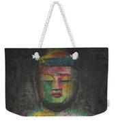 Buddha Encaustic Painting Weekender Tote Bag