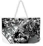Buddha In Black And White Weekender Tote Bag