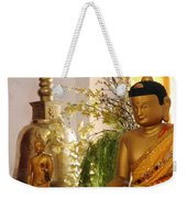 Buddha In India Weekender Tote Bag