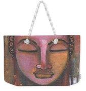 Buddha In Shades Of Purple Weekender Tote Bag