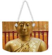 Buddha Statue Weekender Tote Bag