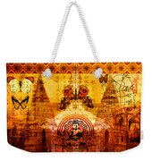 Buddha With Butterflies Weekender Tote Bag