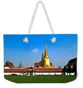 Buddhaist Temple Weekender Tote Bag