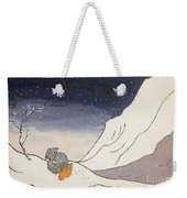 Buddhist Cleric Nichiren And Bleak Winter In Exile Weekender Tote Bag