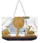 Buddhist Dharma Wheel Weekender Tote Bag