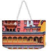 Buddhist Monastery Building Weekender Tote Bag